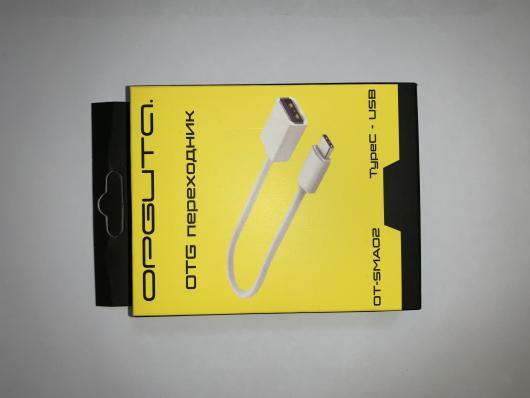 OTG Переходник гн. USB - шт. TYPE C, OT-SMA02/BS-509