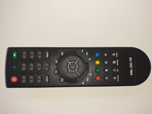 Пульт РОСТЕЛЕКОМ SML-292 HD Base (MTC Smartlabs) версия2 (черный, 50*170)