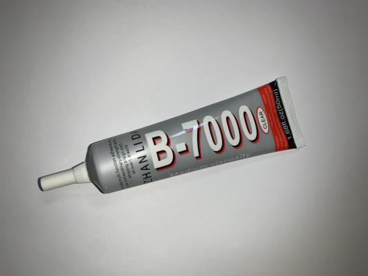 Клей для приклеивания тачскринов ZHANLIDA B-7000 50ml (прозрачный)