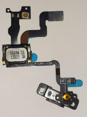 Шлейф для iPhone 4S c микрофоном и кнопкой включения