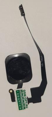Кнопка HOME для iPhone 5S/ SE на шлейфе, с клавишей, черный