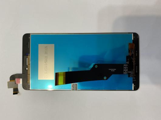 LCD дисплей для Xiaomi Redmi Note 4X в сборе с тачскрином, без рамки (черный)