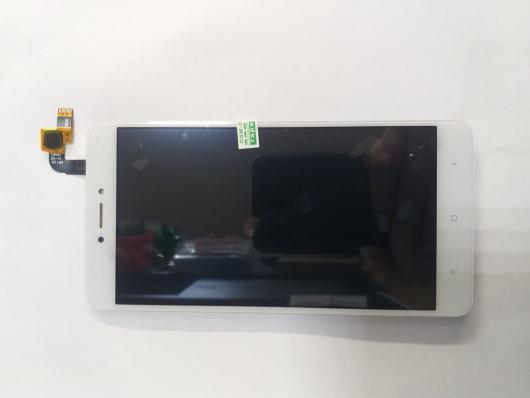 LCD дисплей для Xiaomi Redmi Note 4X в сборе с тачскрином, без рамки (белый)