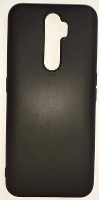 Чехол Color Matt Lite для Oppo A5 (2020)/ A9 (2020) матовый, черный