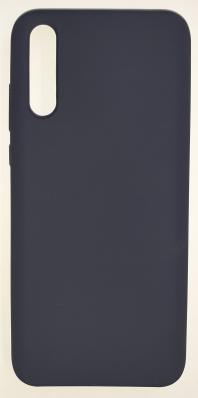 Чехол Silicone Cover для Huawei Y8P (2020) темно-синий
