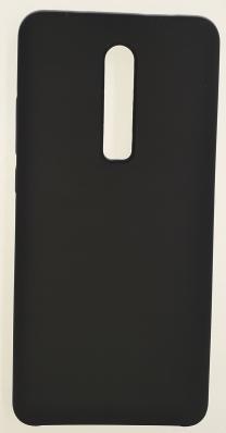 Чехол Silicone Cover для Xiaomi Redmi K20/ K20 Pro/ Mi 9T (2019) черный