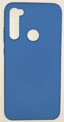 Чехол Silicone Cover для Xiaomi Redmi Note 8 (2019) синий