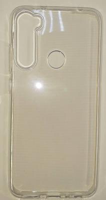 Силиконовый чехол для Xiaomi Redmi Note 8 ультратонкий прозрачный