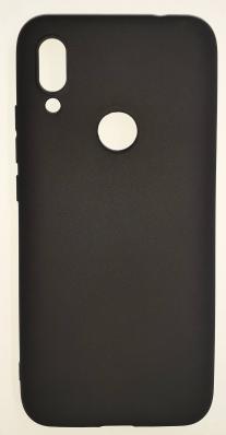Чехол Color Matt Lite для Xiaomi Redmi 7 матовый, черный