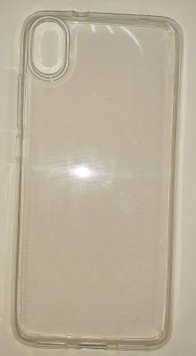 Чехол ультратонкий для Xiaomi Redmi 7A силиконовый, прозрачный