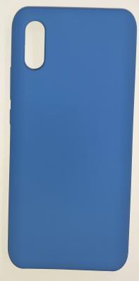 Чехол Silicone Cover для Xiaomi Redmi 9A (2020) синий