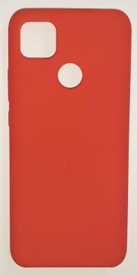 Чехол Silicone Cover для Xiaomi Redmi 9C (2020) красный