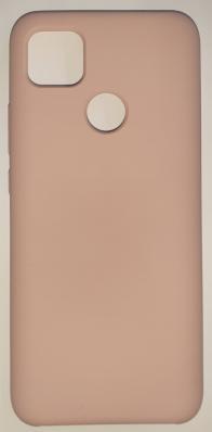 Чехол Silicone Cover для Xiaomi Redmi 9C (2020) розовый