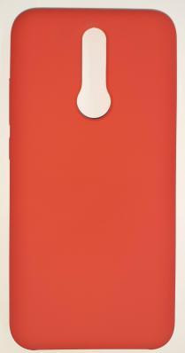 Чехол Silicone Cover для Xiaomi Redmi 8 (2019) красный