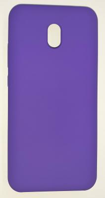 Чехол Silicone Cover для Xiaomi Redmi 8A (2019) фиолетовый