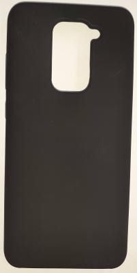 Чехол Silicone Cover для Xiaomi Redmi Note 9 (2020) черный