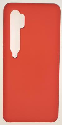 Чехол Silicone Cover для Xiaomi Mi Note 10/ Mi Note 10 Pro (2019) красный
