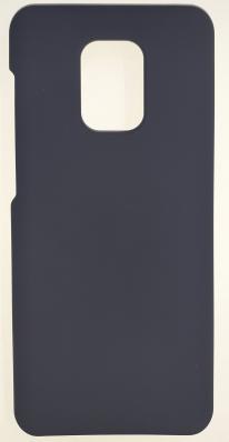 Чехол Silicone Cover для Xiaomi Redmi Note 9S/ Note 9 Pro (2020) темно-синий