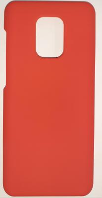 Чехол Silicone Cover для Xiaomi Redmi Note 9S/ Note 9 Pro (2020) красный