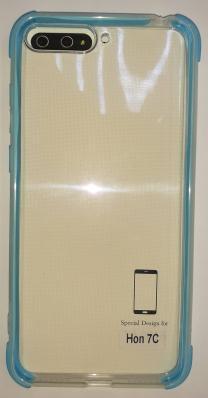 Накладка силиконовая с уголками для Honor 7C