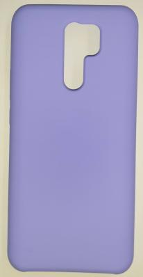 Чехол Silicone Cover для Xiaomi Redmi 9 (2020) сиреневый