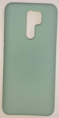 Чехол Silicone Cover для Xiaomi Redmi 9 (2020) синий океан