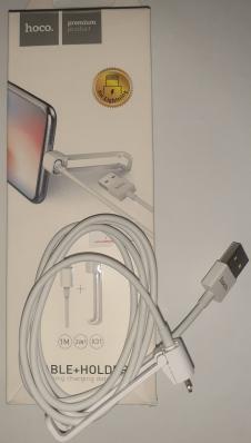 Кабель USB Hoco X31 Lightning для Apple, белый
