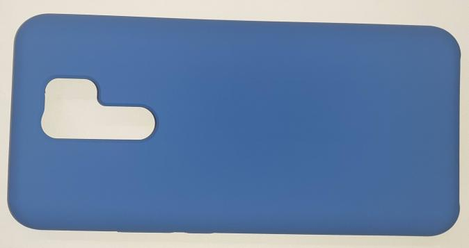 Чехол Silicone Cover для Xiaomi Redmi 9 (2020) синий