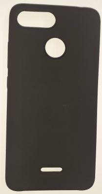 Чехол Silicone Cover для Xiaomi Redmi Note 6 (2018) черный