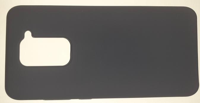 Чехол Silicone Cover для Xiaomi Redmi Note 9 (2020) темно-синий