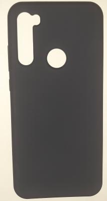 Чехол Silicone Cover для Xiaomi Redmi Note 8T (2019) темно-синий