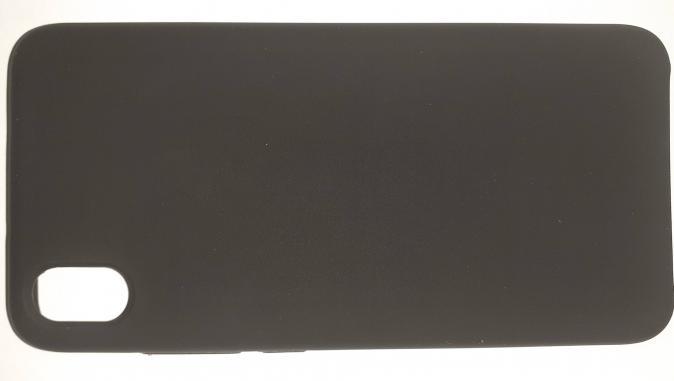 Чехол Silicone Cover для Xiaomi Redmi 7A (2019) черный