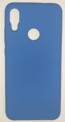 Чехол Silicone Cover для Xiaomi Redmi Note 7 (2019) синий