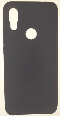 Чехол Silicone Cover для Xiaomi Redmi 7 (2019) темно-синий