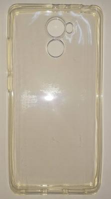 Чехол-накладка TPU Slim 1.0мм Xiaomi Redmi 4, силикон, прозрачный
