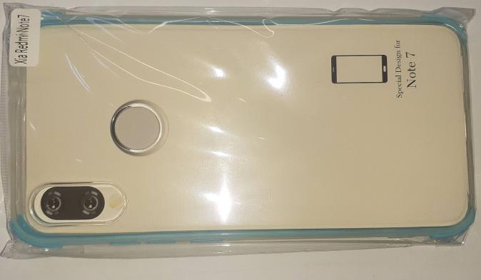 Накладка силиконовая с уголками для Huawei Redmi NOTE 7