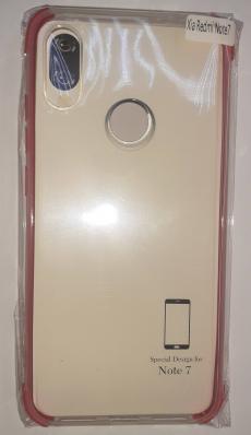 Накладка силиконовая с уголками для Redmi note 7