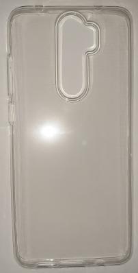 Чехол ультратонкий для Xiaomi Redmi Note 8 Pro силиконовый, прозрачный