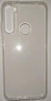 Чехол ультратонкий для Xiaomi Redmi Note 8T силиконовый, прозрачный