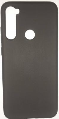 Чехол Color Matt Lite для Xiaomi Redmi Note 8 (2019) матовый, черный