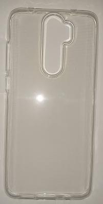 Силиконовый чехол для Xiaomi Redmi Note 8 Pro ультратонкий прозрачный