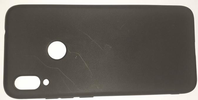 Чехол Color Matt Lite для Xiaomi Redmi Note 7 матовый, черный