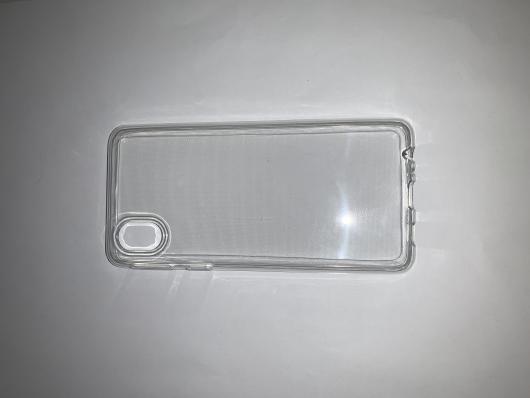 Чехол ультратонкий для Samsung Galaxy A01 Core, A013F (2020) силиконовый прозрачный