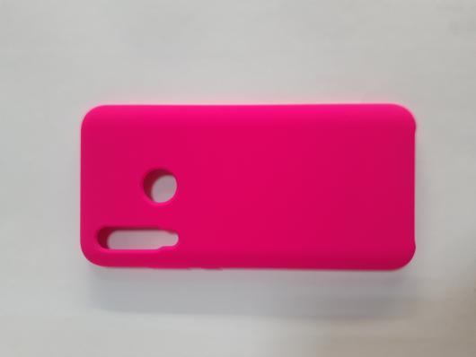 Чехол Silicone Cover для Honor 10i/ 20 lite (2019) ярко-розовый
