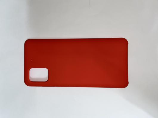Чехол Silicone Cover для Samsung Galaxy A31, A315F (2020) красный