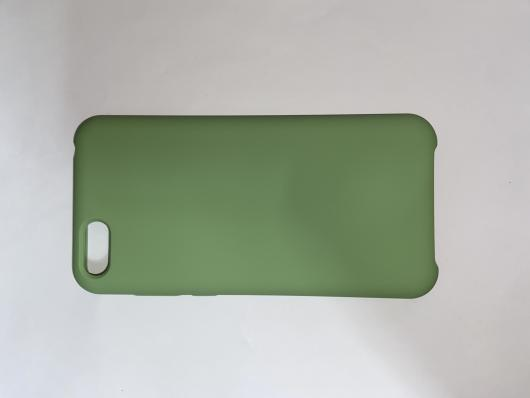 Чехол Silicone Cover для Honor 7S (2020)/ 7A (2018) Huawei Y5 Prime (2018) мятно-зеленый