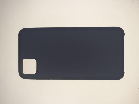 Чехол Silicone Cover для Honor 9S/ Huawei Y5P (2020) темно-синий