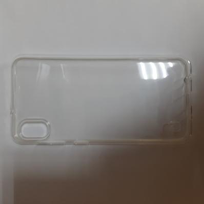 Силиконовый чехол для Samsung Galaxy A10, A105F ультратонкий прозрачный