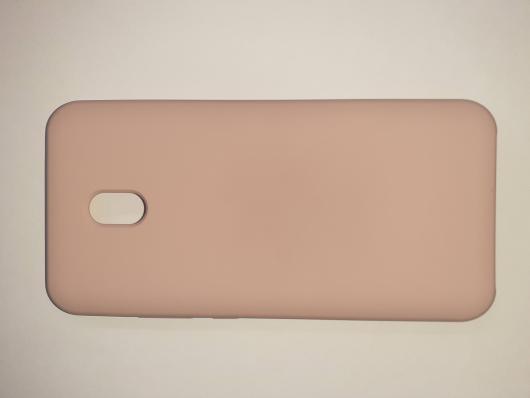 Чехол Silicone Cover для Xiaomi Redmi 8A (2019) розовый песок