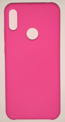 Чехол Silicone Cover для Honor 8A/ Huawei Y6S (2020)/ Honor 8A Prime/ Huawei Y6 ярко-розовый